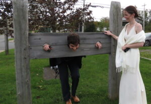 Dan in Pillory
